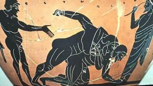 La Lutte - Sport antique