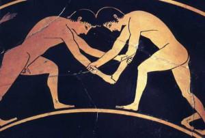 La lutte depuis la Grèce antique
